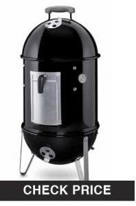 Weber Smokey Mountain vertical pellet smoker