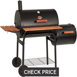Char-Griller Smoking Pro Charcoal Grill
