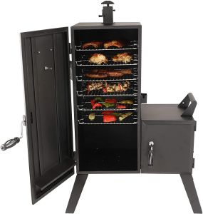 Dyna Glo Vertical Offset Smoker cooking capacity