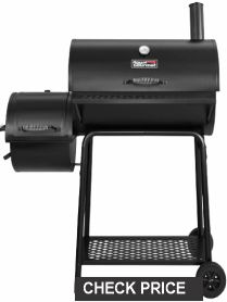 Royal Gourmet CC 1830 F-C 90-00-0 Charcoal Grill with Offset Smoker.