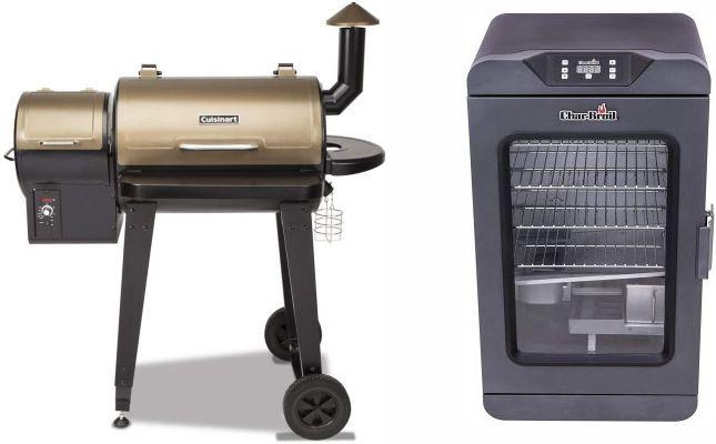 Pellet Smoker vs Electric smoker