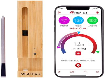 Meater Plus Smart Wireless Meat Thermometer