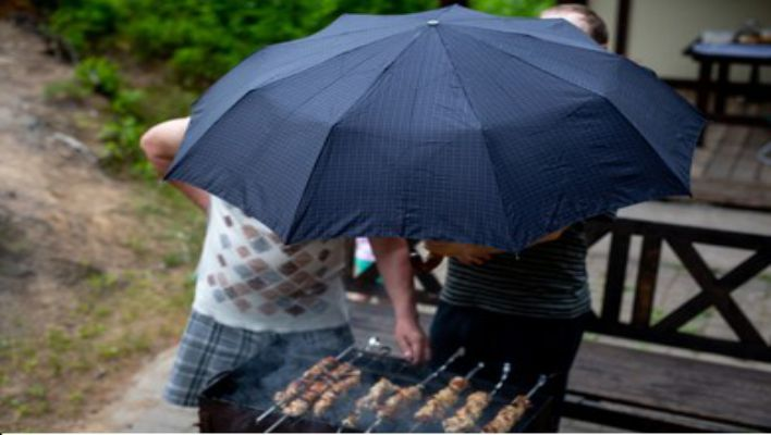 Umbrella or BBQ Canopy for Shelter
