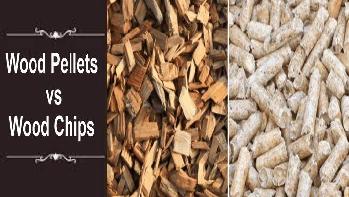 Wood Pellets vs Wood Chips