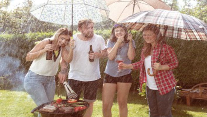 tips that will help you grilling in The Rain